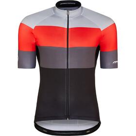 Red Cycling Products Colour Maglietta a Maniche Corte Uomo, nero/rosso